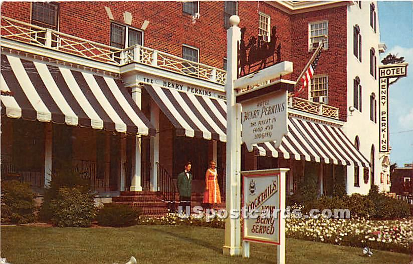 Hotel Henry Perkins - Riverhead, New York NY Postcard