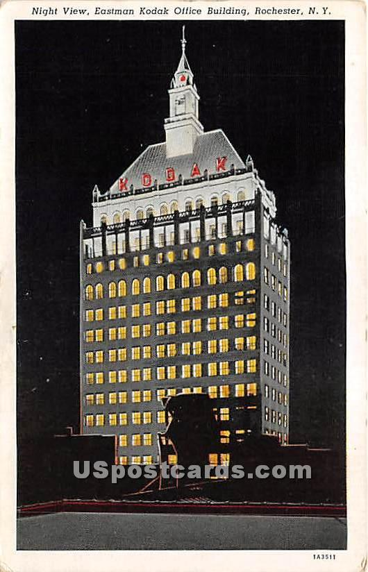 Eastman Kodak Office Building - Rochester, New York NY Postcard