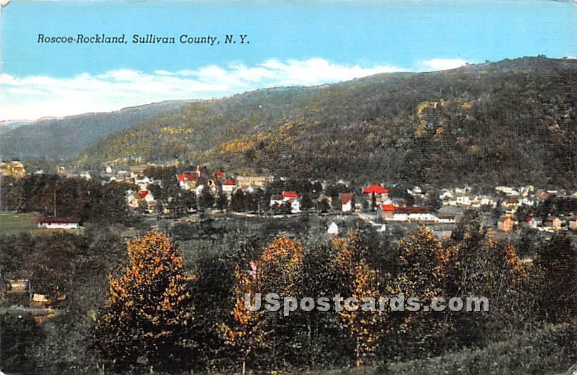 Roscoe, New York NY Postcard