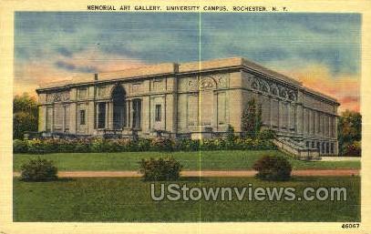 Memorial Art Gallerry - Rochester, New York NY Postcard