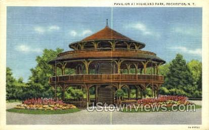 Pavilion at Highland Park - Rochester, New York NY Postcard