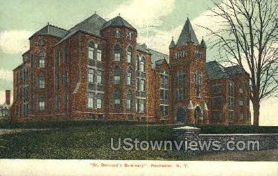 St. Bernard's Seminary - Rochester, New York NY Postcard
