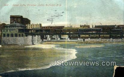 Lehigh Valley Passenger Station - Rochester, New York NY Postcard