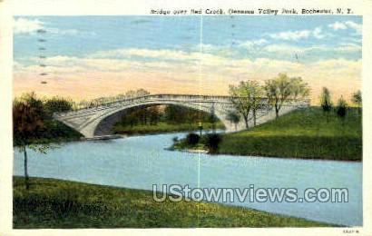 Red Creek - Rochester, New York NY Postcard