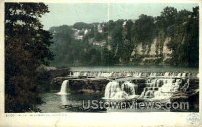 Falls of the Genesee - Rochester, New York NY Postcard