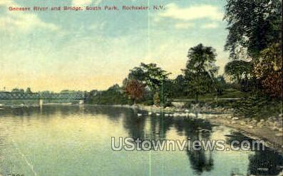 Genesee River - Rochester, New York NY Postcard