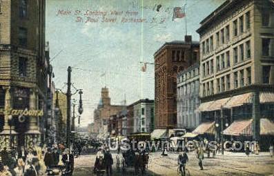 St. Paul Street - Rochester, New York NY Postcard