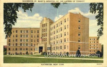 St. Mary's Hospital - Rochester, New York NY Postcard