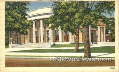 Christina Science Church - Rochester, New York NY Postcard