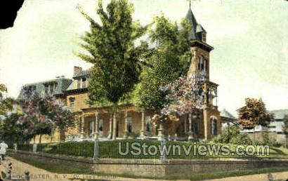 Dr. Lee's Hospital - Rochester, New York NY Postcard