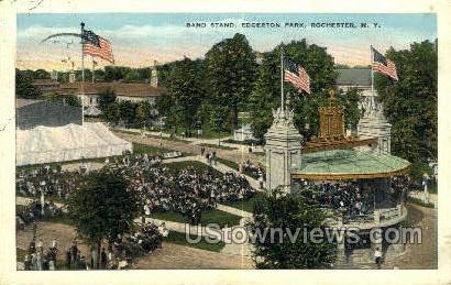 Edgerton Park - Rochester, New York NY Postcard