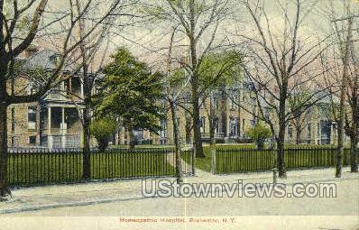 Homeopathic Hospital - Rochester, New York NY Postcard
