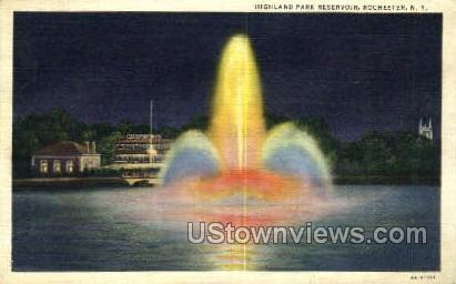 Park Reservoir - Rochester, New York NY Postcard