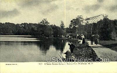 Lake Seneca Park - Rochester, New York NY Postcard