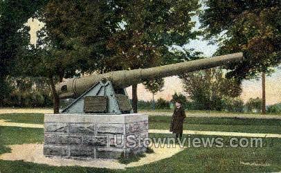 Spanish War Cannon - Rochester, New York NY Postcard