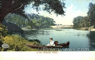 Mohawk Valley - Rochester, New York NY Postcard