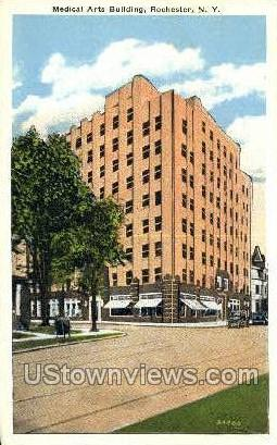 Medical Arts Bldg - Rochester, New York NY Postcard