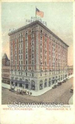 Hotel Rochester - New York NY Postcard