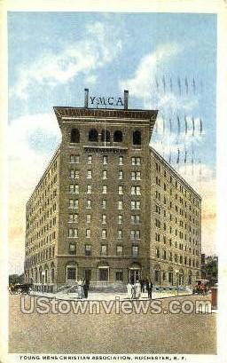 Young Mens Christian Assoc. - Rochester, New York NY Postcard