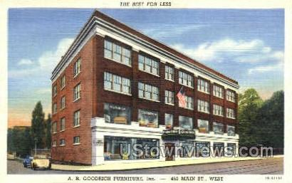A.R. Goodrich Furniture, Inc. - Rochester, New York NY Postcard