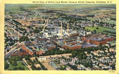 Kodak Park - Rochester, New York NY Postcard
