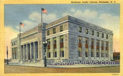 Rochester Public Library - New York NY Postcard