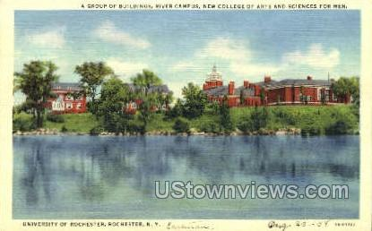 University of Rochester, River Campus - New York NY Postcard