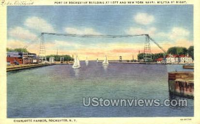 Charlotte Harbor - Rochester, New York NY Postcard