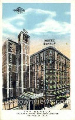 The Seneca Hotel - Rochester, New York NY Postcard