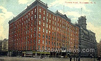 Powers Hotel - Rochester, New York NY Postcard