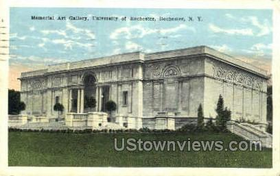 Memorial Art Callery, U of Rochester - New York NY Postcard
