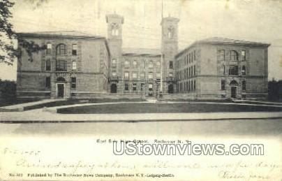 East High School - Rochester, New York NY Postcard