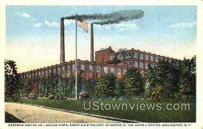 Eastman Kodak Co. - Rochester, New York NY Postcard