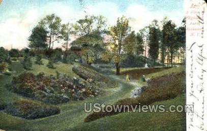 Highland Park Reservoir - Rochester, New York NY Postcard