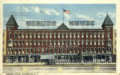 Osburn House - Rochester, New York NY Postcard