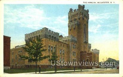 The Armory - Rochester, New York NY Postcard