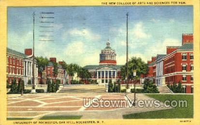 University of Rochester, Oak Hill - New York NY Postcard
