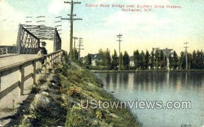 Culver Road Bridge - Rochester, New York NY Postcard