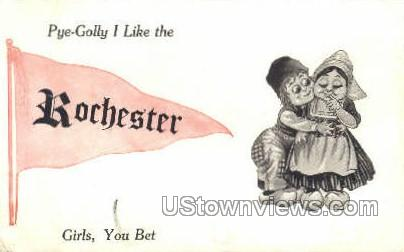 Rochester, New York, NY Postcard