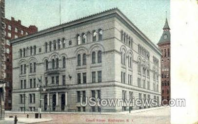 Court House - Rochester, New York NY Postcard