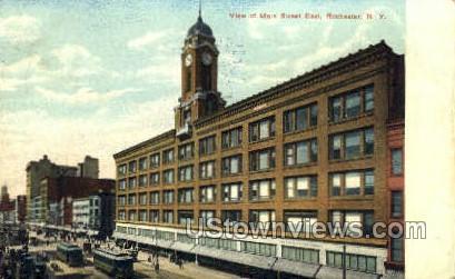 Main Street East - Rochester, New York NY Postcard