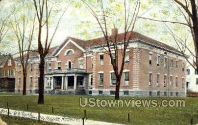 Nurse's Bldg City Hospital - Rochester, New York NY Postcard