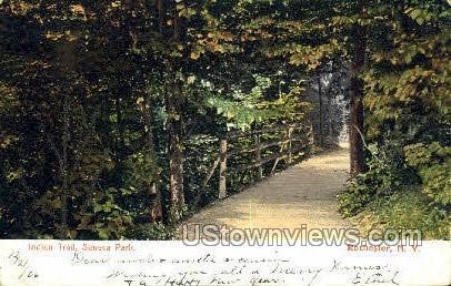 Idian Trail, Seneca Park - Rochester, New York NY Postcard