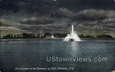 Reservoir, Highland Park - Rochester, New York NY Postcard