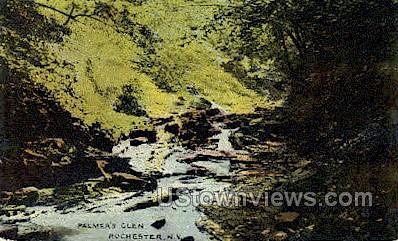 Palmer's Glen - Rochester, New York NY Postcard