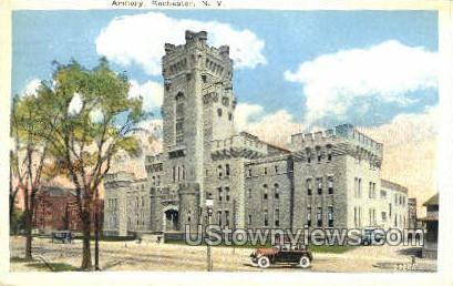 Armory - Rochester, New York NY Postcard