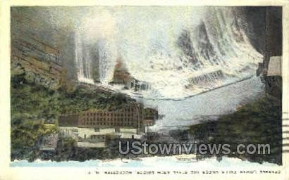 Genesse Lower Falls - Rochester, New York NY Postcard
