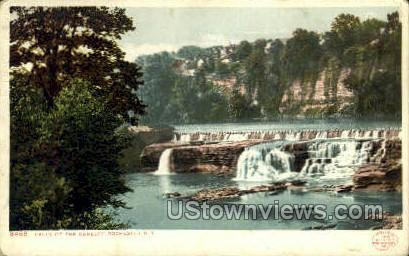 Falls of the Genesse - Rochester, New York NY Postcard