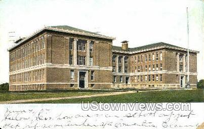 West High School - Rochester, New York NY Postcard