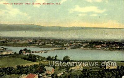 Eastern Wide Waters - Rochester, New York NY Postcard